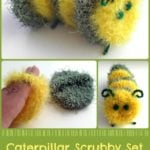 Caterpillar Scrubby Set by Stitches 'N' Scraps