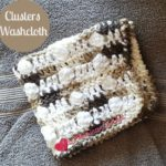 Clusters Washcloth by American Crochet