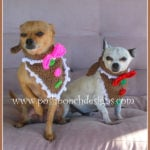 Christmas Gingerbread Dog Bandanna by Sara Sach of Posh Pooch Designs