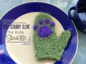 Dish Scrubbing Gloves for Kids by Stitch11
