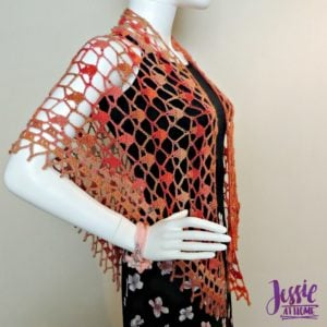 Fall Sparkles Shawl by Jessie At Home
