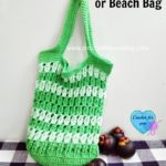 Grab & Go Market or Beach Bag by Erangi Udeshika of Crochet For You