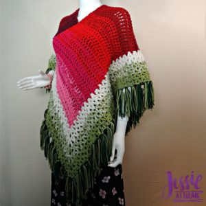 Holiday Poncho by Jessie At Home
