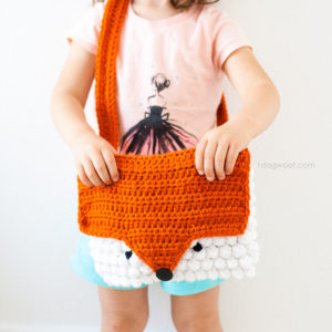 Orange You A Cute Crochet Fox Purse by One Dog Woof