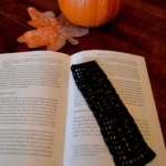 Filet Crochet Boo Bookmark by Art Threads