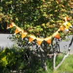 Halloween Candy Corn Bunting by Suzies Stuff