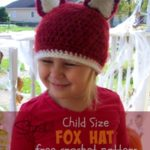 Child Size Fox Hat by Stitch11