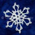 Thunder Bowl Snowflake by Snowcatcher
