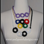 Rings Necklace by Sara Sach of Posh Pooch Designs