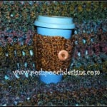 Homespun Coffee Cozy by Sara Sach of Posh Pooch Designs