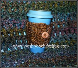 Homespun Coffee Cozy by Sara Sach of Posh Pooch Designs