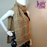 Glitter and Gleam Super Scarf by Jessie At Home