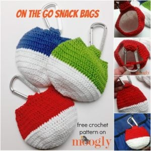 On the Go Snack Bag by Moogly