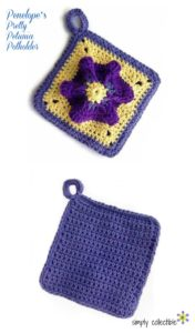 Penelope's Pretty Petunia Potholder by Simply Collectible