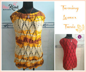 Turning Leaves Tunic by Maz Kwok's Designs