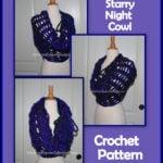 Starry Night Cowl by Sara Sach of Posh Pooch Designs