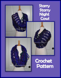 Starry Night Cowl by Sara Sach of Posh Pooch Designs