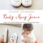 Double Strapped Baby Mary Janes by One Dog Woof
