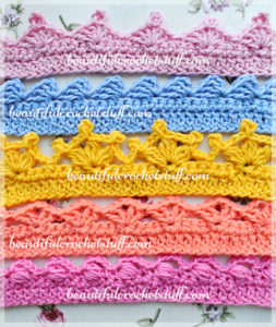 Crochet Borders – Top 5 Free Patterns by Jane Green of Beautiful Crochet Stuff