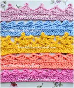 Crochet Borders – Top 5 Free Patterns by Jane Green of Beautiful Crochet Stuff