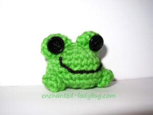 Fredrick the Frog by Enchanted-ladybug.com