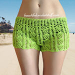 Free Crochet Shorts Pattern by Jane Green of Beautiful Crochet Stuff