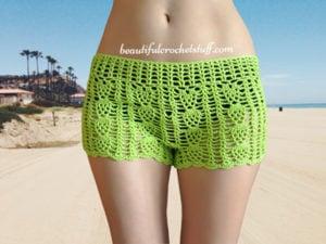 Free Crochet Shorts Pattern by Jane Green of Beautiful Crochet Stuff