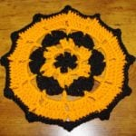 Halloween Doily by Crochet 'N' More