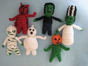 Tiny Monsters by Donna's Crochet Designs