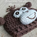 Preemie/Newborn Monkey Hats by Cream Of The Crop Crochet