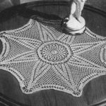 Star of India Doily by Free Vintage Crochet