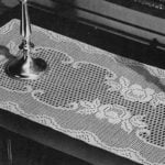 Queen of the Garden Runner Pattern by Free Vintage Crochet