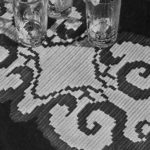 Butterfly Wings Runner by Free Vintage Crochet