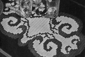 Butterfly Wings Runner by Free Vintage Crochet