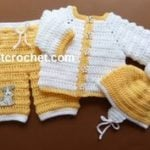 Jacket, Pants and Helmet by JustCrochet.com