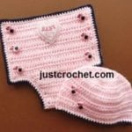 Diaper Cover and Hat by JustCrochet.com