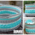 The Sea Glass Basket by Kathy Lashley of ELK Studio