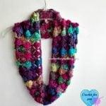 Crochet Shell N Picots Cowl by Erangi Udeshika of Crochet For You