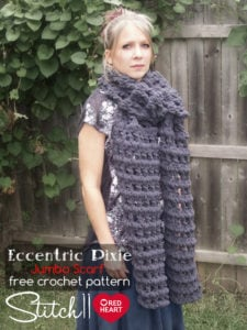 Eccentric Pixie Jumbo Scarf by Stitch11