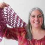 Holiday Hostess with the Mostest Shawlette by Marie Segares/Underground Crafter