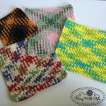 Planned Pooling Argyle Dishcloths by String With Style