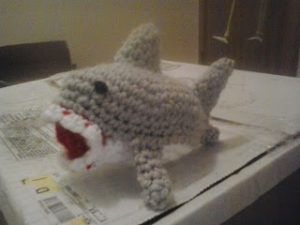 Little Shark by Crochet Fanatic
