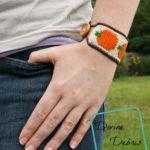 Pumpkin Bracelet by Divine Debris