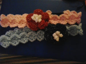 Rose Headband by Crochet Fanatic
