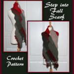 Step into Fall Scarf by Sara Sach of Posh Pooch Designs