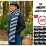 The Woodman Super Scarf by Kathy Lashley of ELK Studio