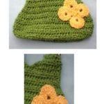Simply Green Purse by Donna Collinsworth of Donna's Crochet Designs