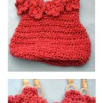 Rose Homespun Purse by Donna Collinsworth of Donna's Crochet Designs