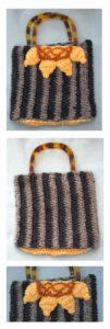 Sunflower Purse by Donna Collinsworth of Donna's Crochet Designs