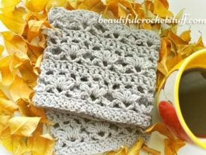 Crochet Boot Cuffs by Jane Green of Beautiful Crochet Stuff